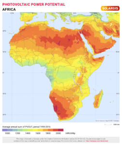 Solarpower in Africa, an overview