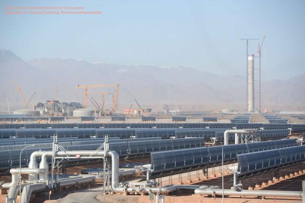 Schweißnähte machen auch vor Desertec nicht halt Baustellenerfahrungen