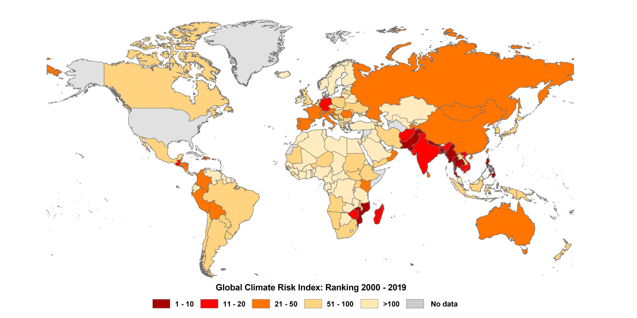 <strong>Global Climate Risk Index: 2019 goes down in history as a year of devastating cyclones</strong>