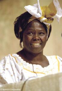 Mutter der Bäume –  Wangari Maathai
