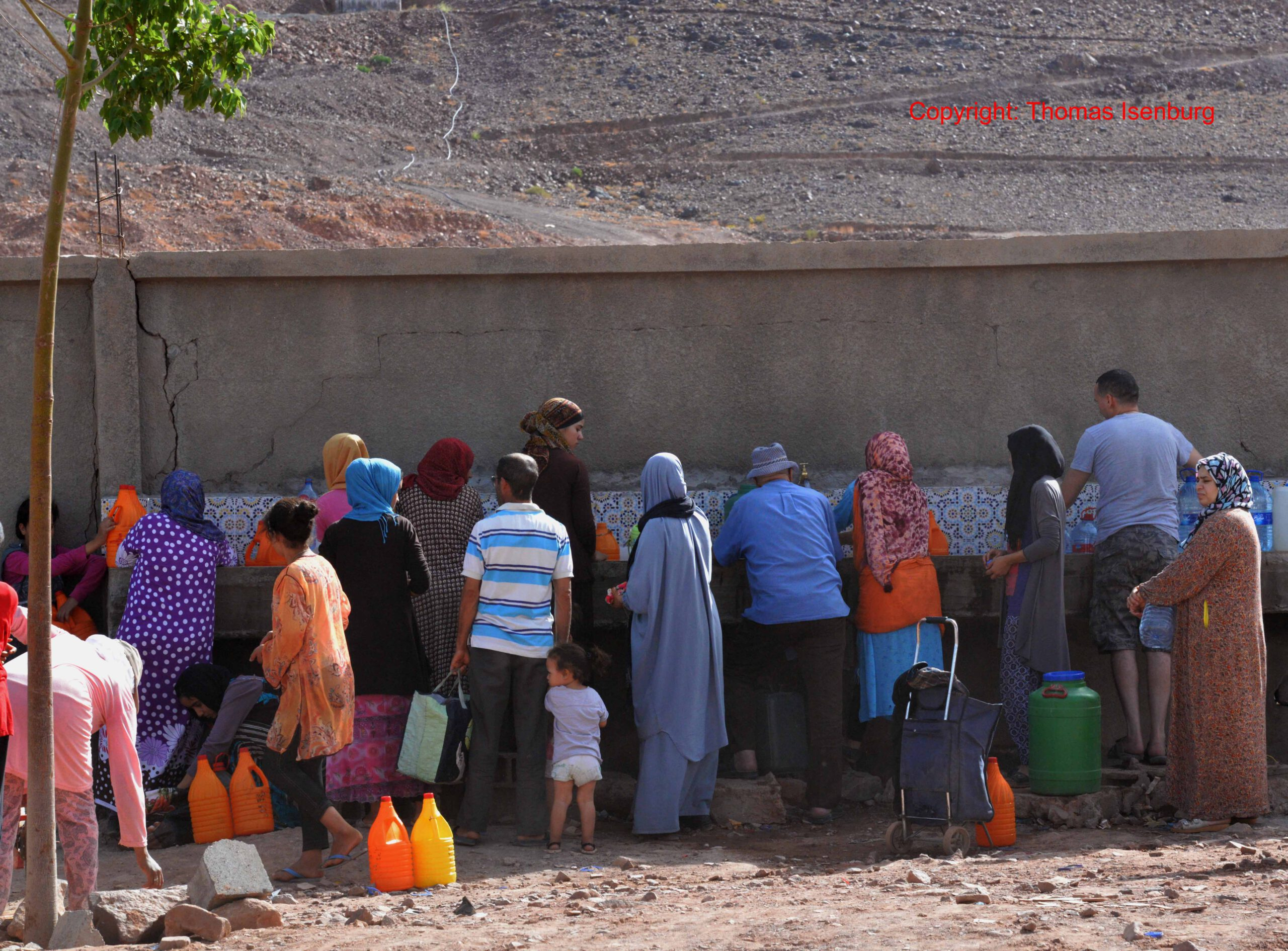 Signs of climate change in Morocco